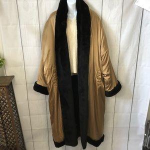Jackets & Blazers - Reversible full-length puffer coat